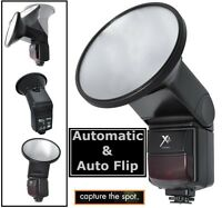 Auto Zoom And Bounce Flash W/flip Diffusor For Canon Eos Rebel T6s T6i 750d 760d