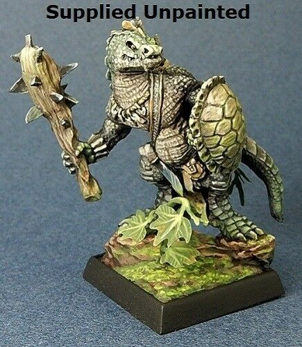 Lizardman Fighter Reaper Miniatures Dark Heaven Legends Warrior Melee Club