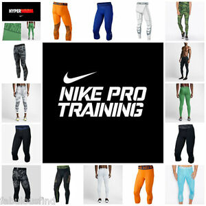 04dad85169 Image is loading NIKE-PRO-Mens-Compression-Training-Spandex-Tights-Base-
