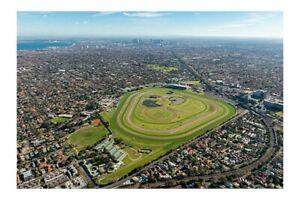 CAULFIELD town and racetrack c2010 aerial modern digital Photo Postcard