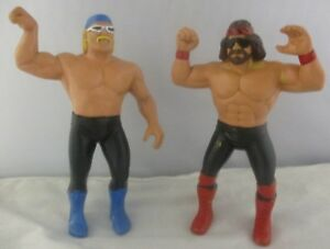 WWF-LJN-Ventura-as-Hollywood-Hogan-Randy-Savage-NWO-Wolfpac-Custom-Figure-Lot