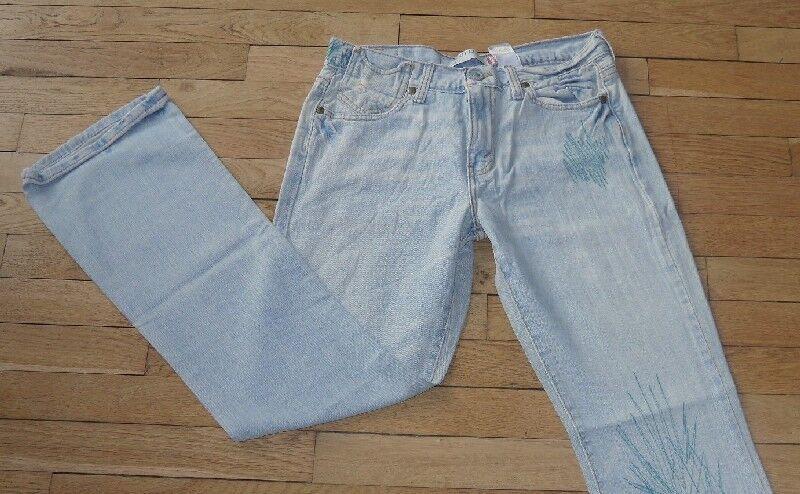 L 32 Taille Fr 34 Neuf REDOUTE Jeans pour Femme W 25 Réf # S177