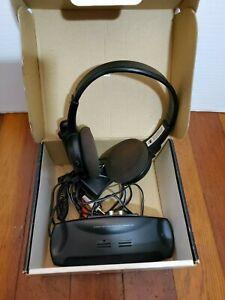 Optimus-Stereo-Infrared-Headphone-System-Wireless-Headset-Music-Speaker-Earpiece