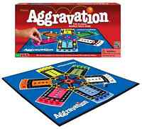 Classic Aggravation Board Game (vtg Style 1962 Artwork) Race Marbles 2-6 Players