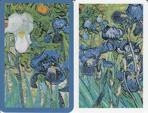 Genuine-Swap-Playing-Card-2-SINGLE-FLOWERS-PIATNIK-IRIS