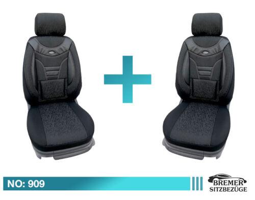 Subaru XV ab Bj 2012 Maß Schonbezüge Auto Sitzbezüge Fahrer /& Beifahrer 909