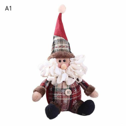 Christmas Gift Santa Claus Snowman Ornament Festival Party Xmas Decor Doll DA