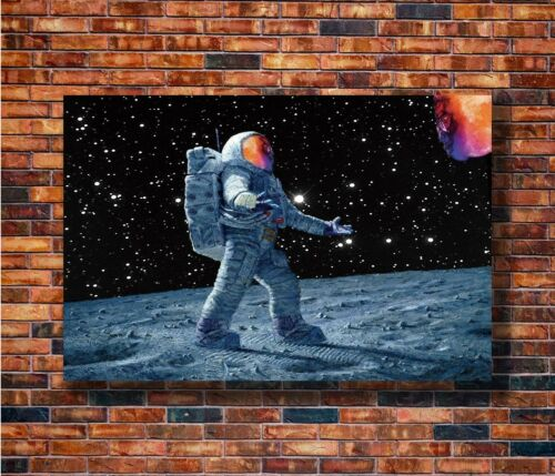 T1474 20x30 24x36 Silk Poster Kid Cudi Man on the Moon Rapper Hip Hop Art Print