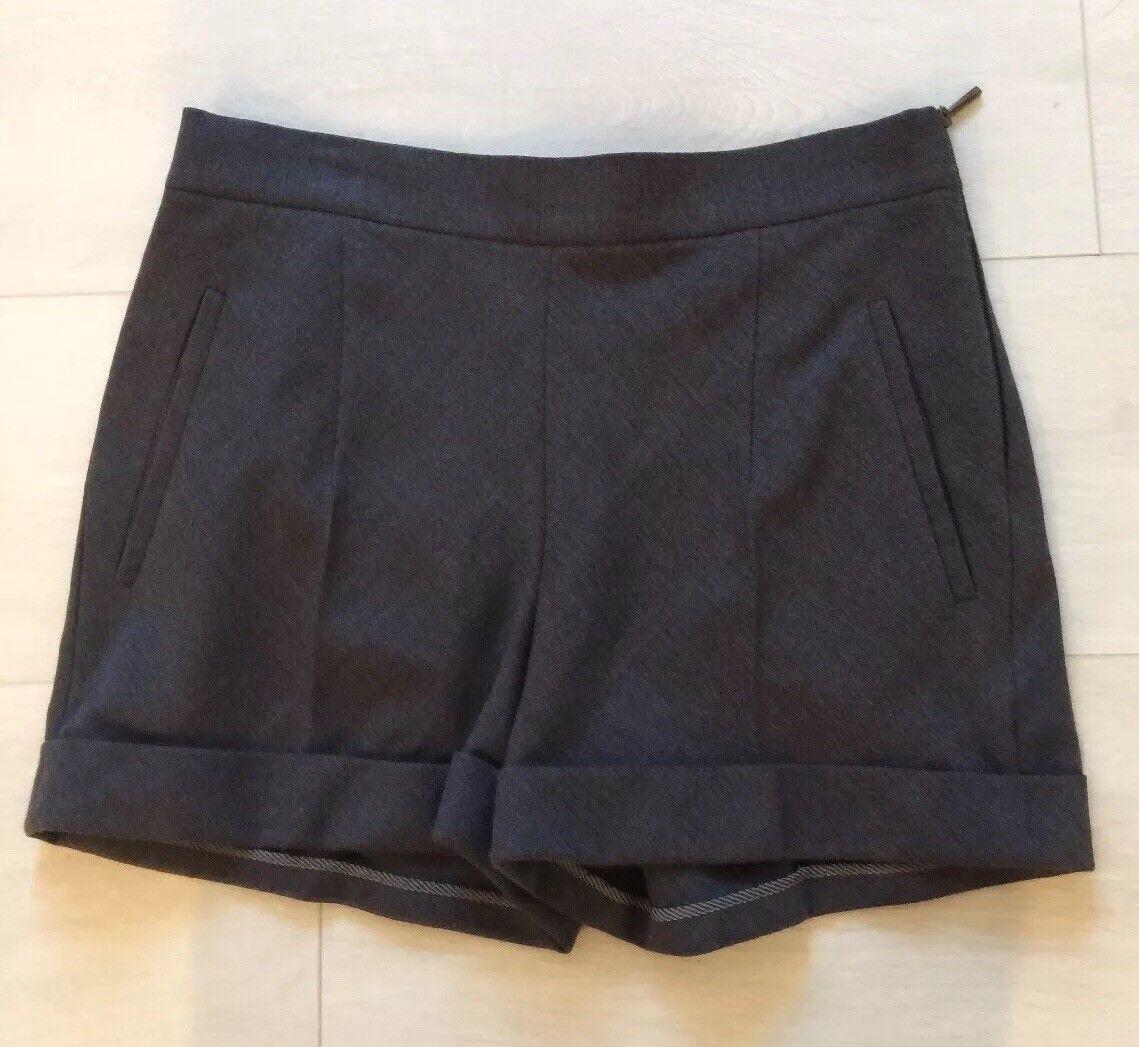 Brunello Cucinelli  Wool Shorts Size 4