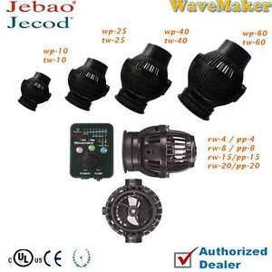 Jebao 2017 TW25 WP40 PP4 PP8 PP15 PP20 Wave Maker with Controller Powerhead Pump