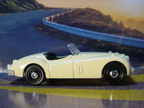 2020 HIGHWAY SPEEDERS Design 1956 JAGUAR XK140 ☆ cream;black☆Matchbox LOOSE