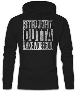 cappuccio Straight di Felpa Lake Robert Altman con radio Kapuzenpullover Outta L'ultima Wobegon 5xxpF