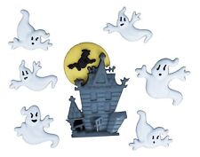 Jesse James Buttons ~ Dress It Up ~ Halloween 2178 ~ Ghosts Spiders Web