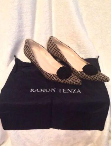 RAMON TENZA Shoes Kitten Heels Pumps - 8.5 AA TAN