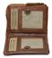 Indexbild 4 - Geldbörse Naturleder Damenbörse Vintage Kartenbörse  Ausleseschutz RFID/NFC