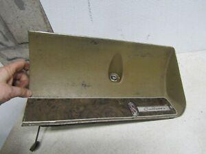 1969 69 OLDSMOBILE CUTLASS  GLOVE BOX  WOODGRAIN