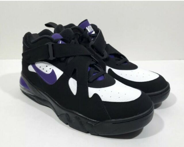 Nike Air Force Max CB 34 Mens Basketball Shoes Black Purple Size 8.5