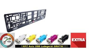 I-Audi-S-Line-I-2x-Kennzeichenhalter-2D-Neu-hit-Kennzeichenhalterung-I
