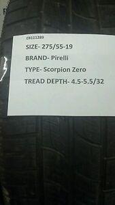 1-Used-Pirelli-Scorpion-Zero-275-55-19-2755519-275-55-19-275-55-19