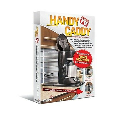 Handy Caddy Sliding Under-Cabinet Appliance Moving Caddy Tray