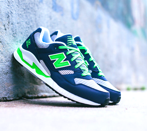669a1a2dbc6a NEW  New Balance Men s Shoes M530NG 90 s Running 530 gray navy green ...