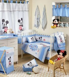 Image Is Loading Brand New Disney 4 Piece Baby Blue Mickey