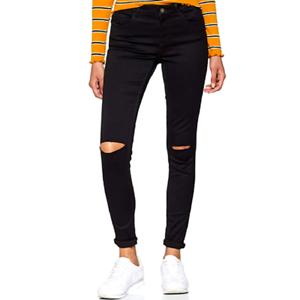 VERO MODA Damen Jeans skinny Jeanshose stretch Jeans Größe XXS-XXL schwarz