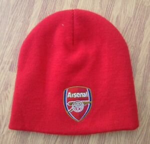 872300084a52d Arsenal F.C. Soccer Red Knit Winter Cap ~ Youth Child ~ Futbol ...