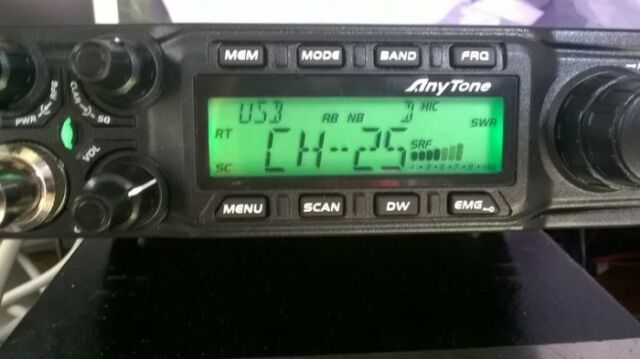AnyTone AT-6666 CB Mobile Radio/Transceiver, 40 CH