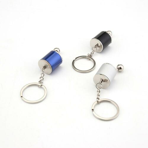 Gear Knob Gear Shift Gear Stick Gear Box Metal Key Chain Keyfob Car Keyring BE