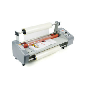 460mm A2 Four Rubber Roller Hot and Cold Laminating Machine Paper Laminator 220V 965280144816