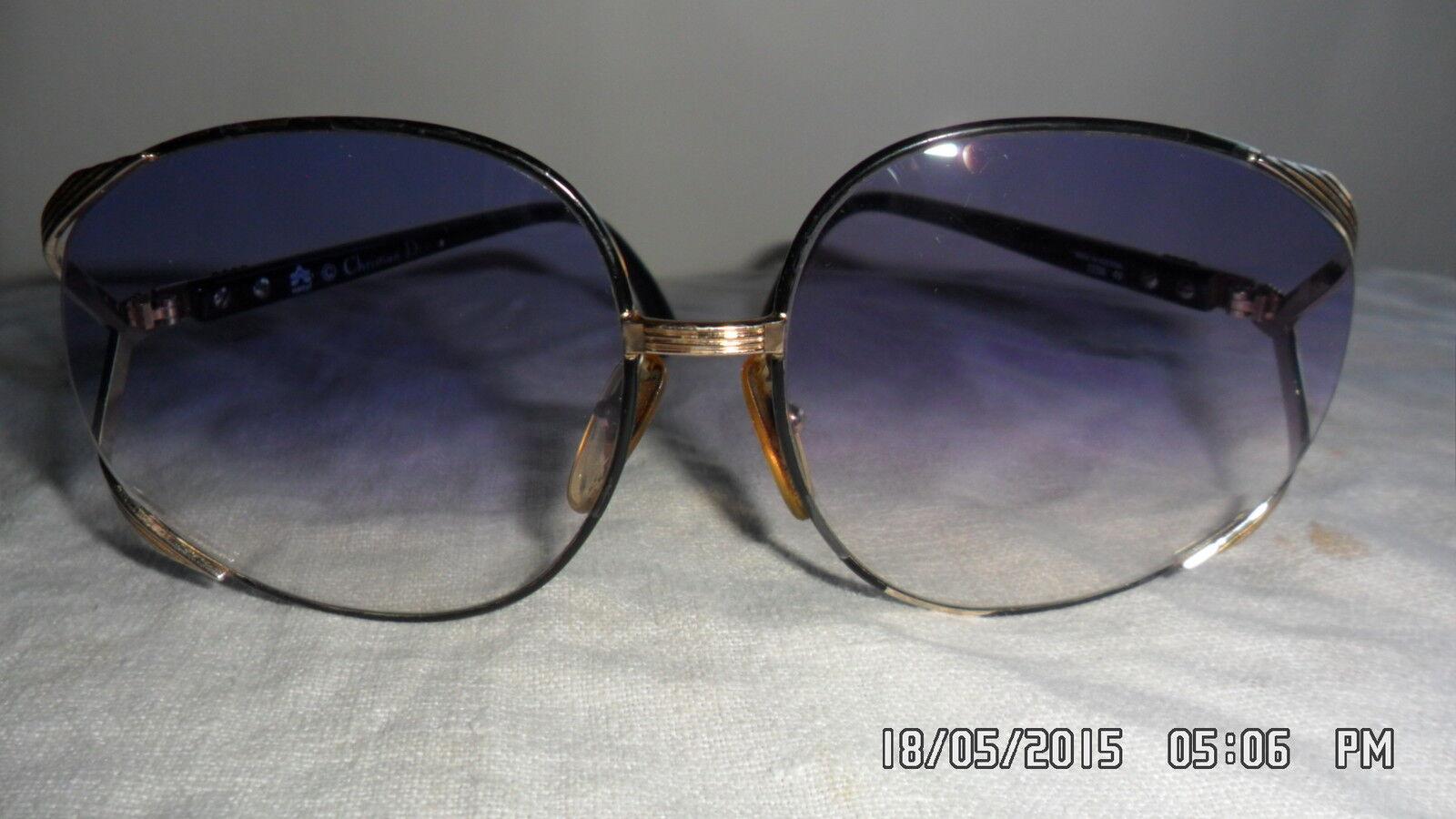 Glasses/Sunglasses Dior Original Vintage 70 years Sun Hat Ladies Mod