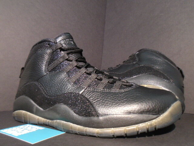 2016 Retro Nike Air Jordan X 10 OVO Black Size 12 for sale online  f08102e72