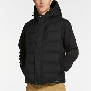 NWT-Timberland-Men-039-s-Goose-Eye-Down-Vest-A1MYH-Navy-Black-S-M-L-XL