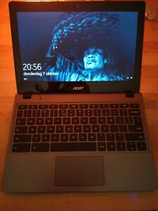 Acer C720 Chromebook Converted To Windows 10 With 120gb Ssd