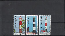 Namibia 2010 CTO Lighthouses SG#1152-4 3v Set Swakopmund Diaz Point Walvis Used