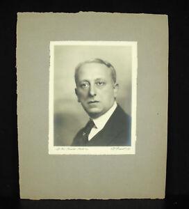 Uni Henri Manuel 1920 Portrait De Louis-alfred Natanson Dit Alfred Athis Dramaturge