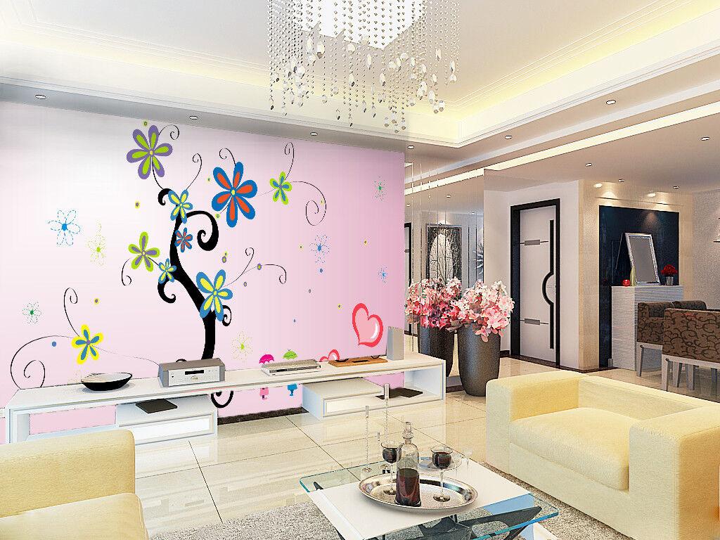 3D Romantic Style 75 Wall Paper Murals Wall Print Wall Wallpaper Mural AU Summer