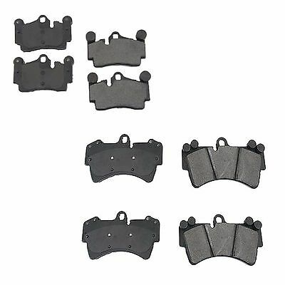 For Audi Q7 Porsche VW Set of Front /& Rear Disc Brake Pads Original Performance
