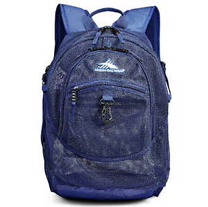 Blue High Sierra Airhead Mesh School Backpack