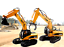 Full-Functional-DIE-DAST-Remote-Control-Excavator-Tractor-Timber-Graber-ToyTruck thumbnail 1