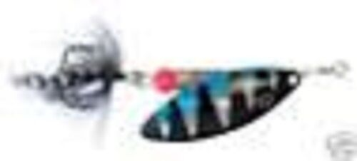 HOLOGRAPHIC TIGER LONG BLADE SPINNER LURE No8 11.5g