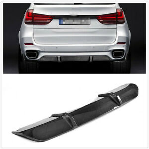 Carbon-Fiber-Rear-Bumper-Diffuser-Lip-Spoiler-For-BMW-F15-X5-M-Sport-2014-2018-M
