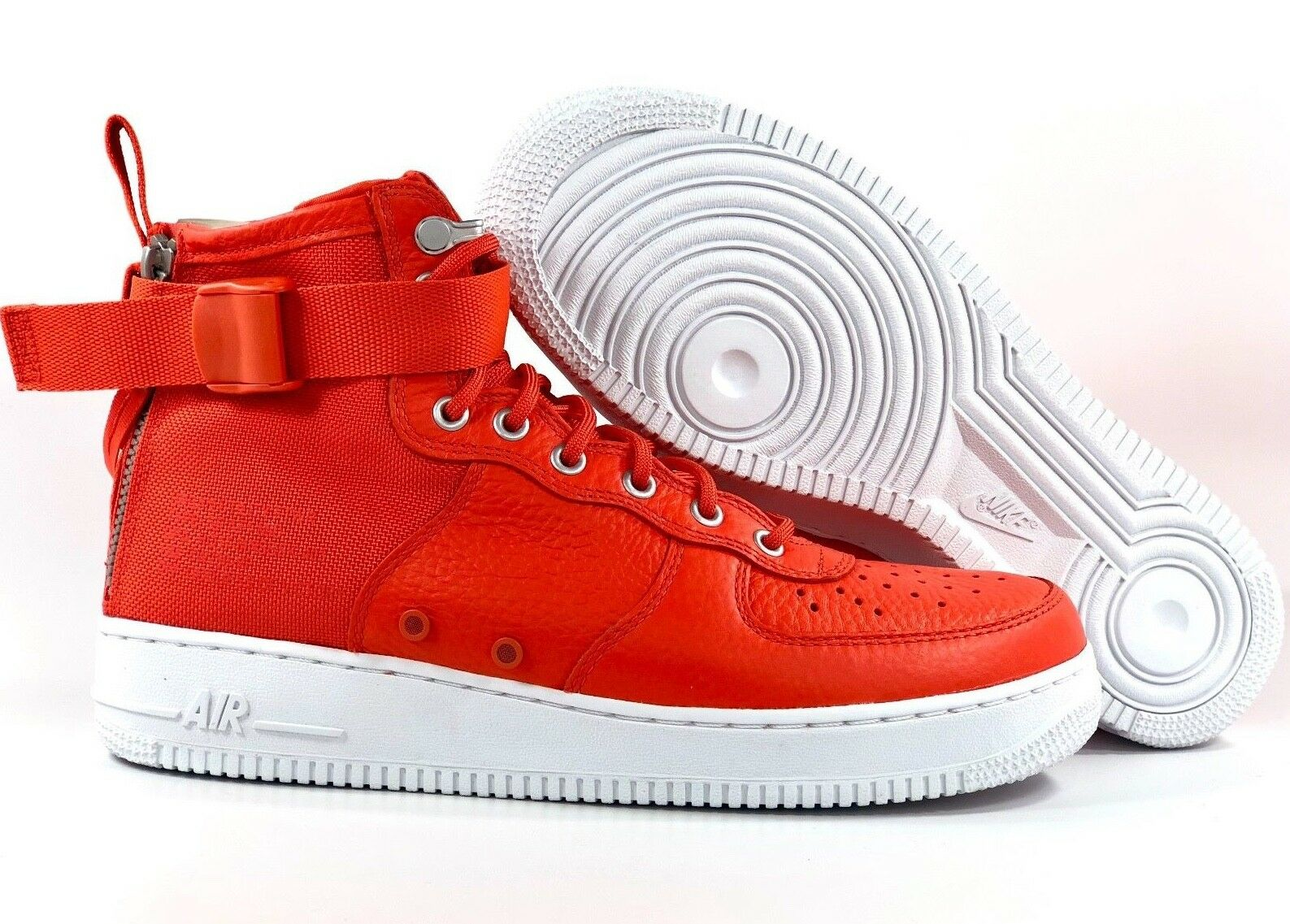 92e483e415e8f Nike SF AF1 Mid Special Field Air Force 1 1 1 orange White 917753-800 ...