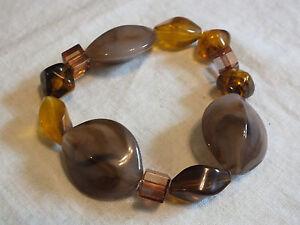 Coral bracelet Tiger/'s eye bracelet Christmas gift for her. Amber bracelet Lampwork bracelet Unique bracelet White bracelet