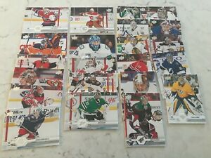 2019-20 UPPER DECK SERIES 2 GOALIES BASE LOT OF 22