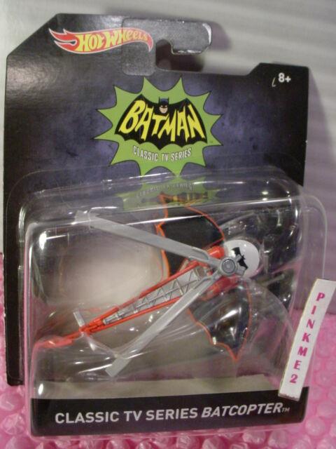 2016 BATMAN Classic TV SERIES BATCOPER ✿1:50 Scale✿Hot Wheels DC Comics