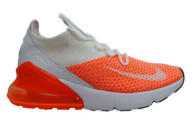 super popular 41d37 c323d Womens Nike Air Max 270 Flyknit - AH6803800 - White Orange | eBay