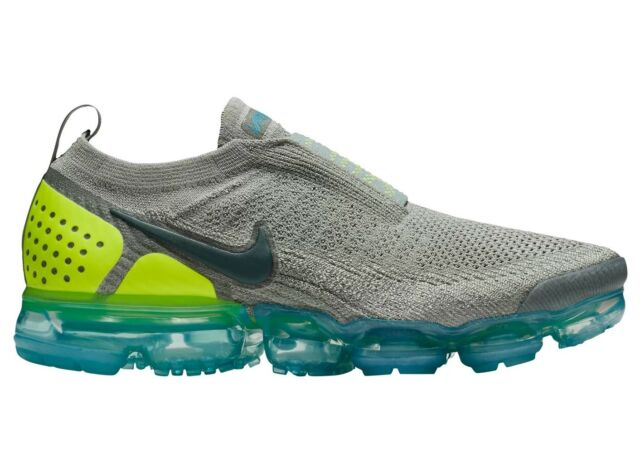 huge discount innovative design latest design Nike Air Vapormax Flyknit Moc 2 AH7006-300 Mica Green Running Shoes Size 9.5
