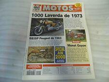 REVUE MOTOS D'HIER N° 20 DECEMBRE 1999 /1000 LAVERDA 1973/BB3SP PEUGEOT